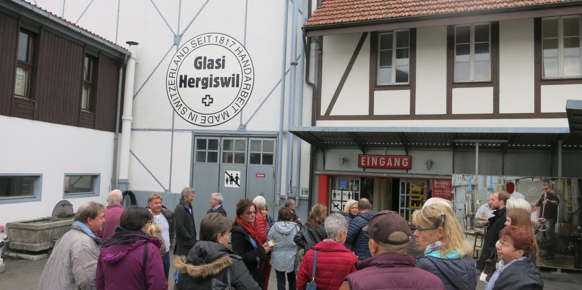 Gewerbeverein Reusstal abenteuerlich unterwegs