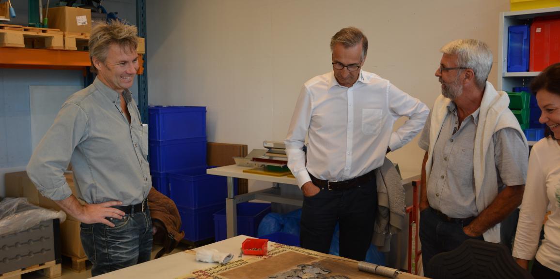 Gewerbeverein Reusstal erfährt Spannendes über die Integra Freiamt und über Wohlen