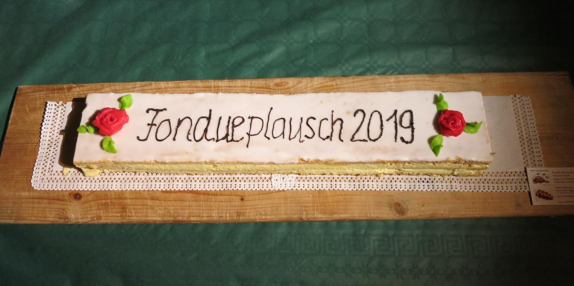 Fondueplausch 2019